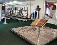 Общий вид экспозиции музея.