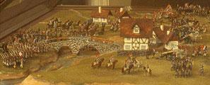 Макет. Сражение при Требии 17 июня 1799 г.